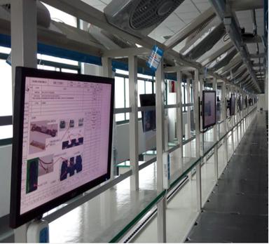 流水线电子看板在电器厂的应用案例