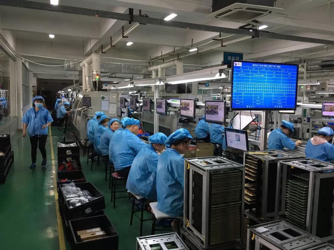 东莞邦越助力佛山电子厂实现智能信息数字化