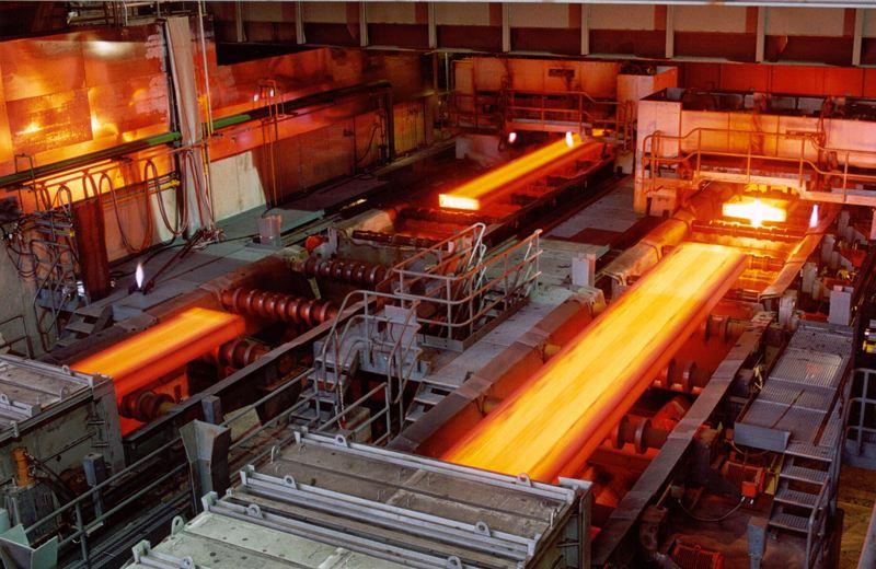 耐高温标签在钢铁行业的应用